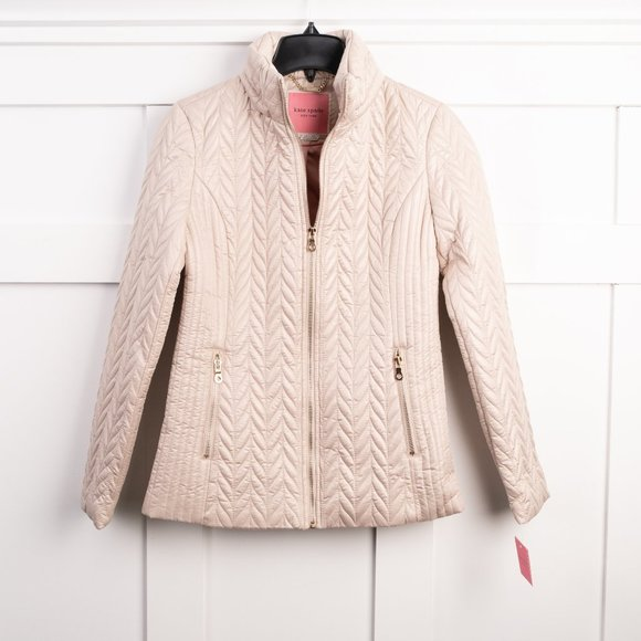 NEW Kate Spade NY quilted jacket